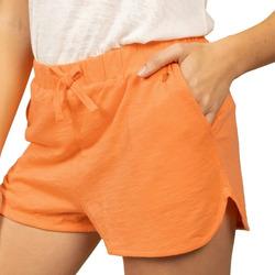 Textiel Dames Korte broeken / Bermuda's Deeluxe  Oranje