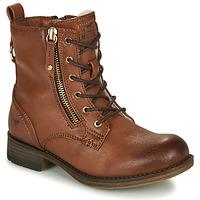 Schoenen Meisjes Laarzen Mustang 5026-623-308 Bruin