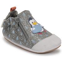 Schoenen Jongens Babyslofjes Robeez BLUE PINGUINS Grijs
