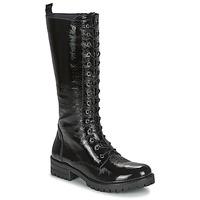 Schoenen Dames Hoge laarzen Dorking WALKING Zwart