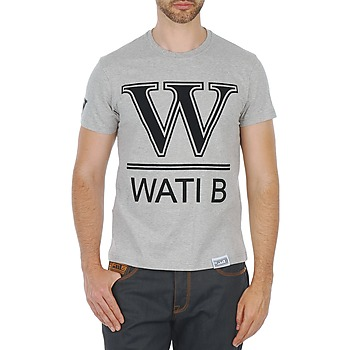 Textiel Heren T-shirts korte mouwen Wati B TEE Grijs