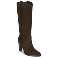 Schoenen Dames Hoge laarzen Ikks BR80185 Bruin