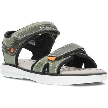 Schoenen Jongens Sandalen / Open schoenen Geox SANDALEN  MARATEA J15DRA LEGER