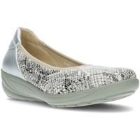 Schoenen Dames Ballerina's G Comfort COMFORTABELE BALLERINA P9525 WIT