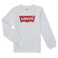 Textiel Jongens Sweaters / Sweatshirts Levi's BATWING CREWNECK SWEATSHIRT Wit