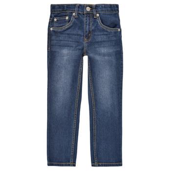 Textiel Jongens Skinny jeans Levi's 511 SLIM FIT JEANS Blauw