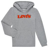 Textiel Jongens Sweaters / Sweatshirts Levi's GRAPHIC PULLOVER HOODIE Grijs