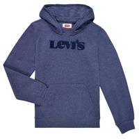 Textiel Jongens Sweaters / Sweatshirts Levi's GRAPHIC PULLOVER HOODIE Marine