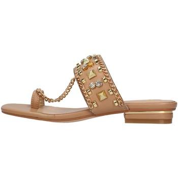 Schoenen Dames Leren slippers Alma En Pena V21310 BEIGE