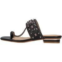 Schoenen Dames Leren slippers Alma En Pena V21310 BLACK