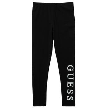 Textiel Meisjes Leggings Guess PELINNA Zwart