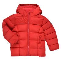 Textiel Meisjes Dons gevoerde jassen Petit Bateau TYLA Rood