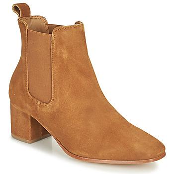 Schoenen Dames Hoge laarzen Levi's DELILAH CHELSEA Bruin