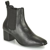 Schoenen Dames Hoge laarzen Levi's DELILAH CHELSEA Zwart