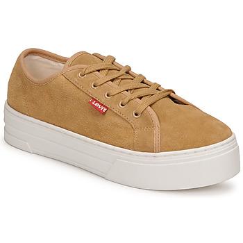 Schoenen Dames Lage sneakers Levi's TIJUANA Bruin