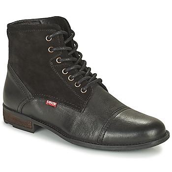 Schoenen Heren Laarzen Levi's FOWLER 2.0 Zwart