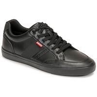 Schoenen Heren Lage sneakers Levi's TURNER 2.0 Zwart