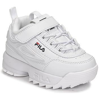 Schoenen Kinderen Lage sneakers Fila DISRUPTOR INFANTS Wit