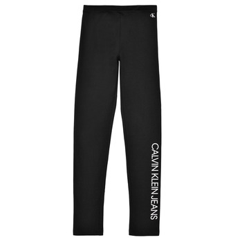 Textiel Meisjes Leggings Calvin Klein Jeans MERCA Zwart