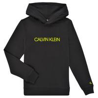 Textiel Kinderen Sweaters / Sweatshirts Calvin Klein Jeans ZOPLINA Zwart