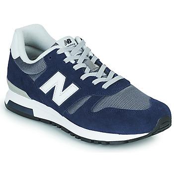 Schoenen Heren Lage sneakers New Balance 565 Blauw / Grijs