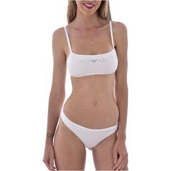 Textiel Dames Bikini Armani 262670 1P313 Wit