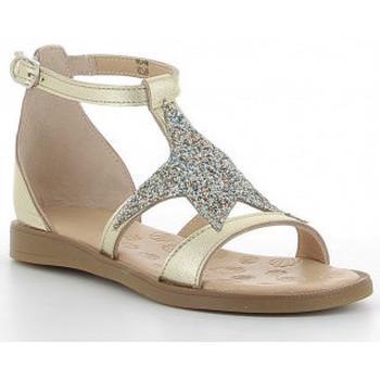Schoenen Meisjes Sandalen / Open schoenen Acebo's 9895-GE oro Doré