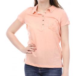 Textiel Dames Polo's korte mouwen Sun Valley  Oranje