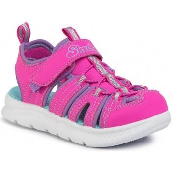Schoenen Meisjes Sandalen / Open schoenen Skechers copy of SANDALIAS VELCRO NIÑA  302100L Roze
