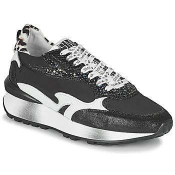 Schoenen Dames Lage sneakers Semerdjian MARI Zwart / Wit