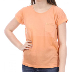 Textiel Dames T-shirts korte mouwen Sun Valley  Oranje