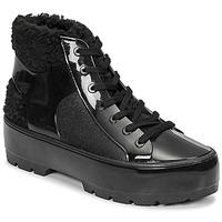 Schoenen Dames Laarzen Melissa MELISSA FLUFFY SNEAKER AD Zwart