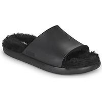 Schoenen Dames slippers Melissa MELISSA FLUFFY SIDE AD Zwart