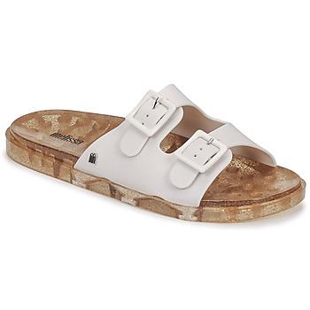 Schoenen Dames Leren slippers Melissa MELISSA WIDE AD Wit