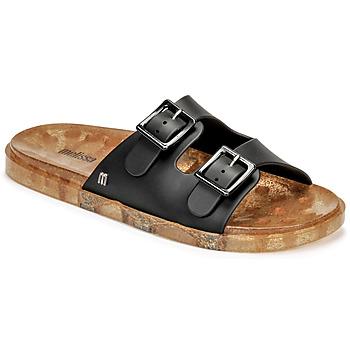 Schoenen Dames Leren slippers Melissa MELISSA WIDE AD Zwart