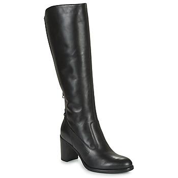 Schoenen Dames Hoge laarzen NeroGiardini HARICOTO Zwart