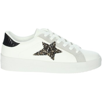 Schoenen Dames Lage sneakers Gold & Gold GB50 White