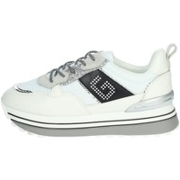 Schoenen Dames Lage sneakers Gold & Gold GB36 White/Black