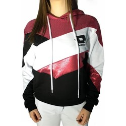 Textiel Dames Sweaters / Sweatshirts Lotto LTD446 White/Fuchsia