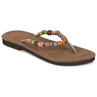 Schoenen Dames Teenslippers Banana Moon PERLA Multicolour