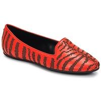 Schoenen Dames Mocassins Roberto Cavalli TPS648 Rood