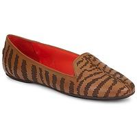 Schoenen Dames Mocassins Roberto Cavalli TPS648 Bruin
