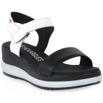 Schoenen Dames Sandalen / Open schoenen Pepe Menargues NEGRO VACUNO Nero