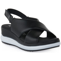 Schoenen Dames Sandalen / Open schoenen Pepe Menargues TRIPOLI NERO Nero