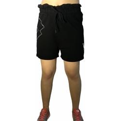 Textiel Dames Korte broeken / Bermuda's Lotto LTD525 Black