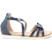 Schoenen Kinderen Sandalen / Open schoenen Miss Sixty S19-SMS577 Blauw