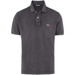 Textiel Heren T-shirts & Polo's Napapijri N0YHDX Grijs