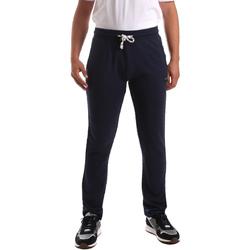 Textiel Heren Broeken / Pantalons Key Up 2F36E 0001 Blauw