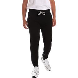 Textiel Heren Broeken / Pantalons Key Up 2F37E 0001 Zwart