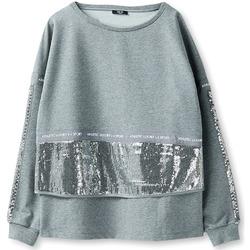 Textiel Dames Sweaters / Sweatshirts Liu Jo T68034F0741 Grijs